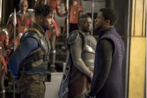 Black Panther, T'Challa, Killmonger